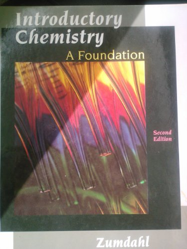 9780669328554: Introductory Chemistry a Foundation