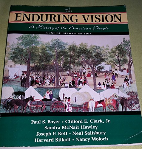 9780669331684: Enduring Vision: A History of the American People, Concise Edition