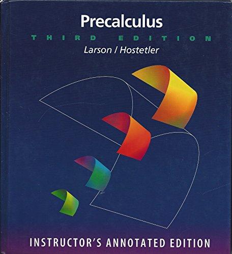 9780669332360: Precalculus