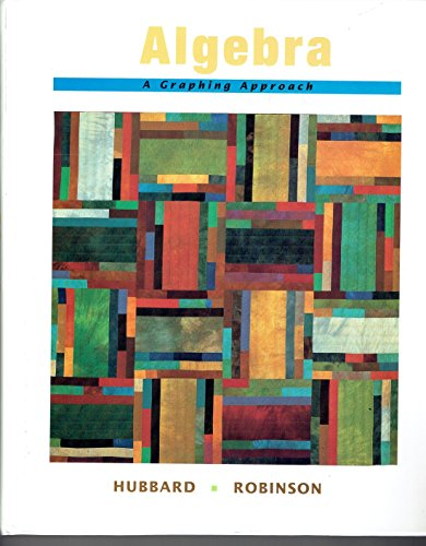9780669333183: Algebra: A Graphing Approach