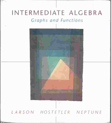9780669337556: Intermediate Algebra: Graphs and Functions