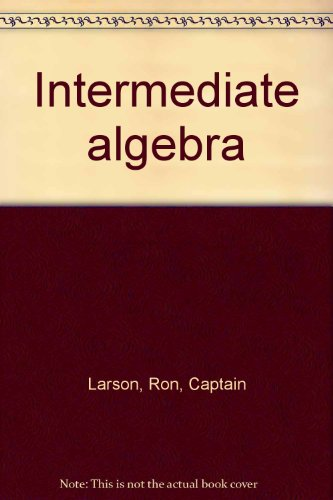 9780669337563: Intermediate algebra: Graphs and functions (Just graph it)