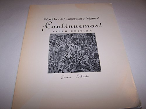 9780669337648: Continuemos!: Workbook/Laboratory Manual