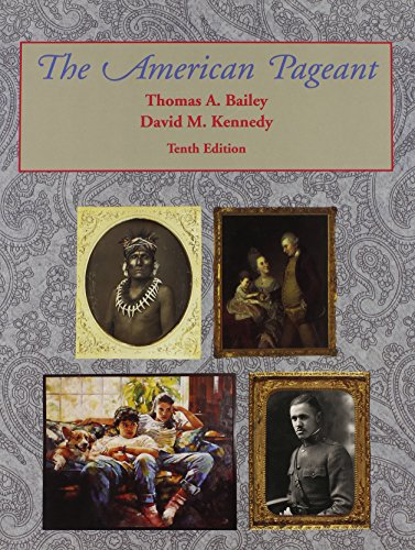 9780669338928: American Pageant: History of the Republic