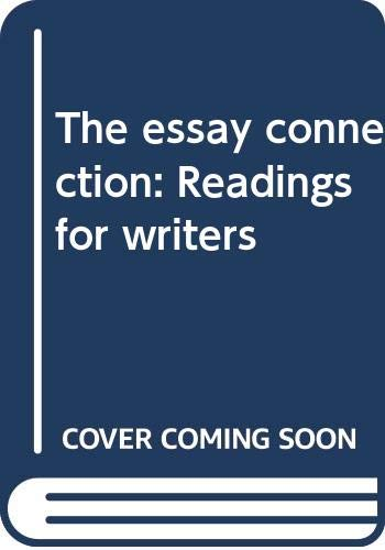 the essay connection by lynn z. bloom The essay connection, a provocative collection of essays by professional and student writers, stimulates critical thinking on ethical, social, and political issues, enabling students to make connections and write with an informed viewpoint.