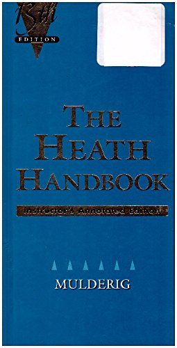 9780669341331: The Heath Guide to Grammar & Usage