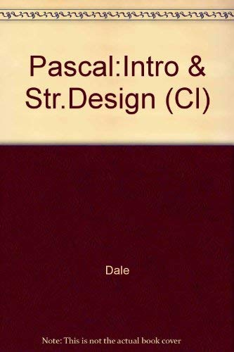 9780669342185: Pascal:Intro & Str.Design (Cl)