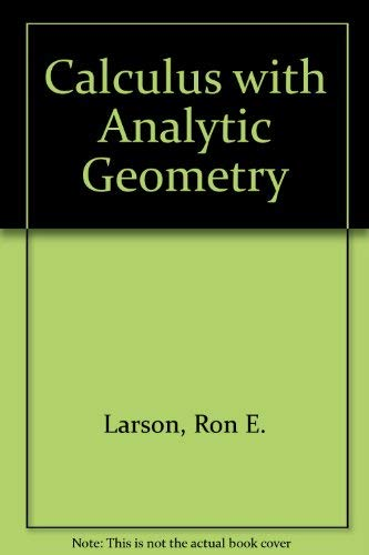 9780669342277: Calculus With Analytic Geometry Alternate
