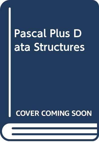 9780669347203: Pascal Plus Data Structures