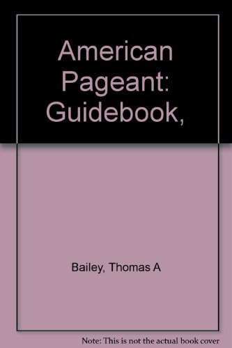 9780669350364 the american pageant guidebook with answers volume rh abebooks com American Beauty Plus Pageant Crown American Pageant 14th Edition