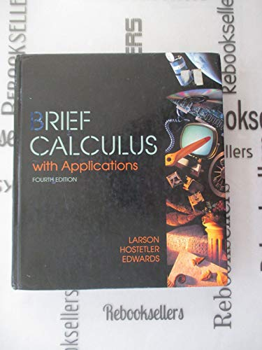 9780669351651: Brief Calculus With Applications