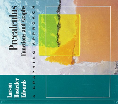 9780669352061: Precalculus: Functions & Graphs a Graphing Approach