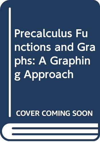 9780669352092: Precalculus Functions and Graphs: A Graphing Approach