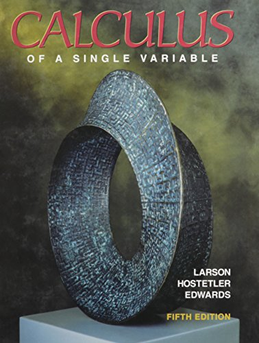 9780669352504: Calculus of a Single Variable