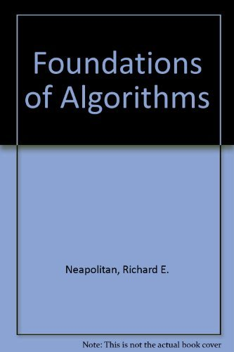 9780669352986: Foundations of Algorithms
