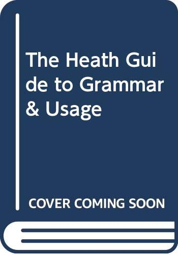 9780669353785: The Heath Guide to Grammar & Usage