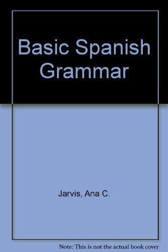 9780669354522: Basic Spanish Grammar