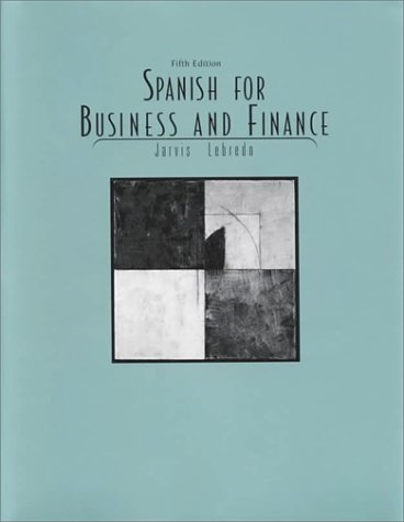 9780669354638: Spanish for Business and Finance