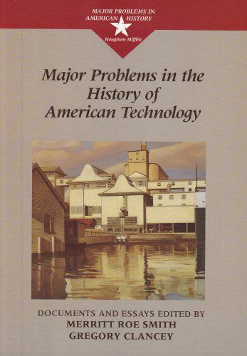 9780669354720: Major Problems in the History of American Technology (Major Problems in American History)