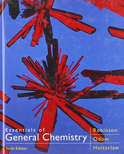 9780669354843: Essentials of General Chemistry