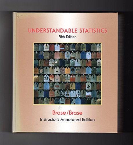 9780669355147: Understandable Statistics: Concepts & Methods