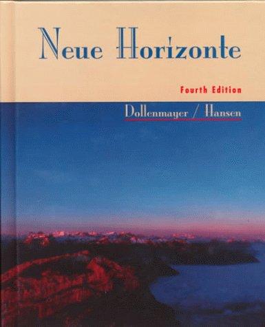9780669355284: Neue Horizonte