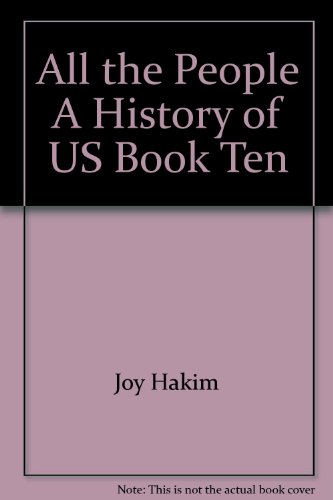 All the People A History of US: Joy Hakim