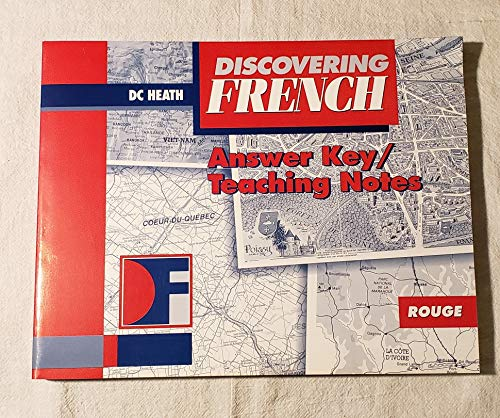 9780669383218: Discovering French, Answer Key / Teaching Notes
