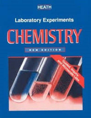 9780669386424: McDougal Littell Chemistry: Lab Manual Student Edition Grades 9-12