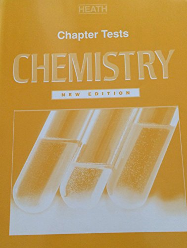 9780669386493: Heath Chemistry: Chapter Tests - New Edition