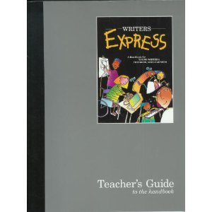 9780669388350: Writer's Express: Teacher's Guide to the Handbook: a Handbook for Yound Writers, thinkers and Learners
