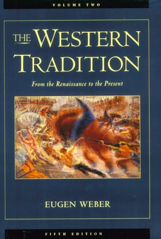 9780669394436: The Western Tradition, Vol. 2: From the Renaissance to the Present