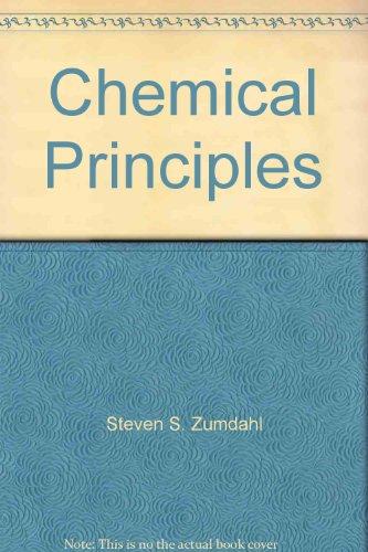 9780669394573: Chemical Principles