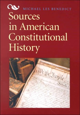 9780669394719: Sources in American Constitutional History