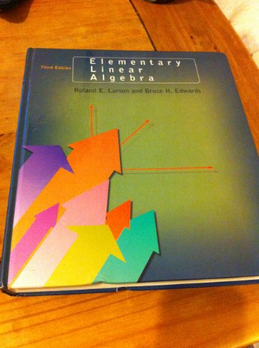 9780669396416: Elementary Linear Algebra
