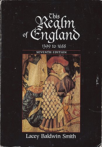 9780669397178: This Realm of England, 1399 to 1688: 2
