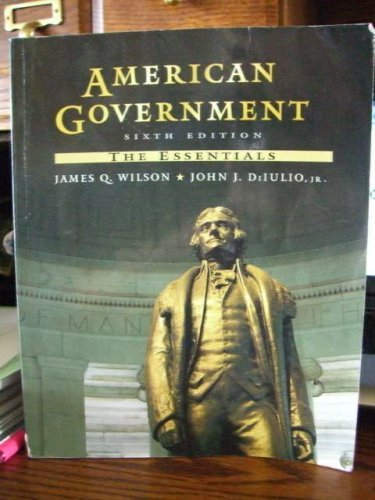 9780669397321: American Government the Essentials
