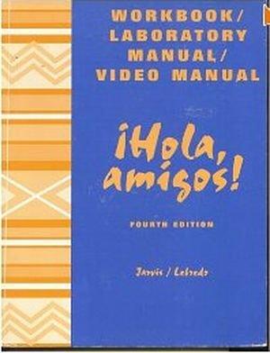 9780669397420: Hola, Amigos! (Lab Manual and Workbook)
