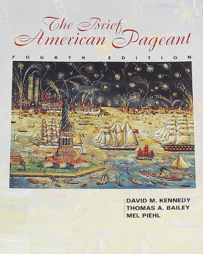 9780669397673: Brief American Pageant: A History of the Republic