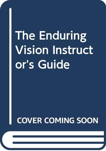 9780669397970: The Enduring Vision Instructor's Guide