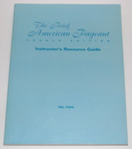 9780669399806: The Brief American Pageant (Instructor's Resource Guide)