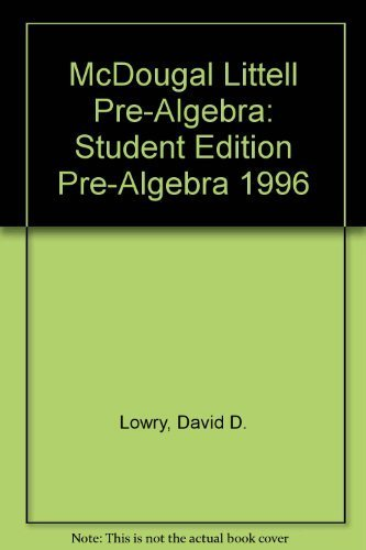 Foundations of Sequential Mathematics: David D. Lowry;