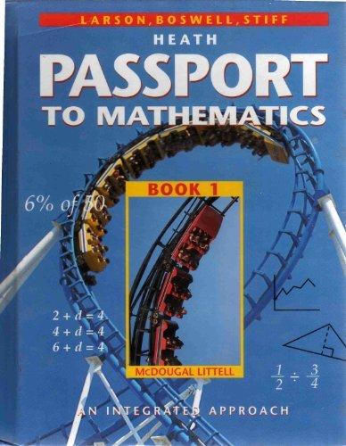 9780669406283: Passport To Mathematics: An Integrated Approach Book 1