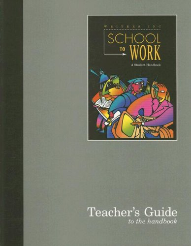 9780669408751: School to Work: Teacher's Guide (Write Source: Writers Inc)