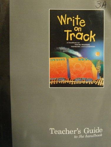 9780669408829: A teacher's guide to accompany Write on track