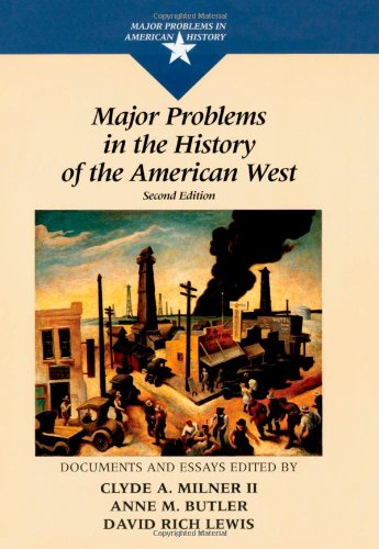 9780669415803: Major Problems in the History of the American West (Major Problems in American History)