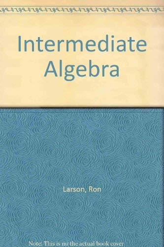 9780669416404: Intermediate Algebra