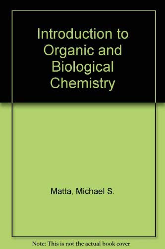 9780669417081: Introduction to Organic and Biological Chemistry