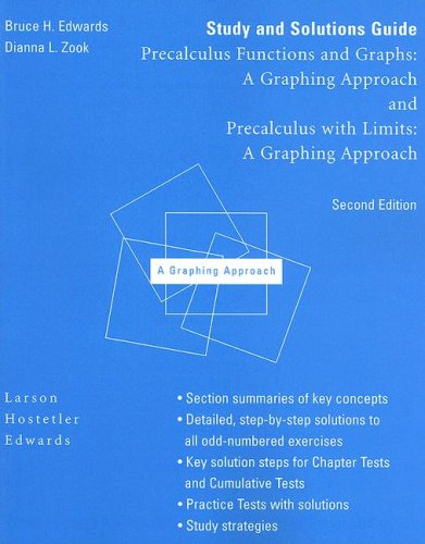 Precalculus with Limits : A Graphing Approach: Edwards, Bruce H.