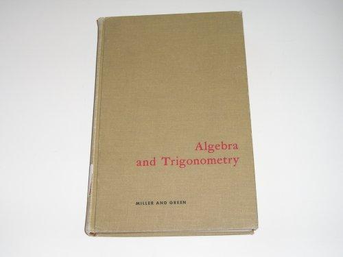 9780669417470: Algebra and Trigonometry